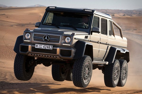 Mercedes-Benz G63 AMG 6×6: When 4×4 Isn't Enough