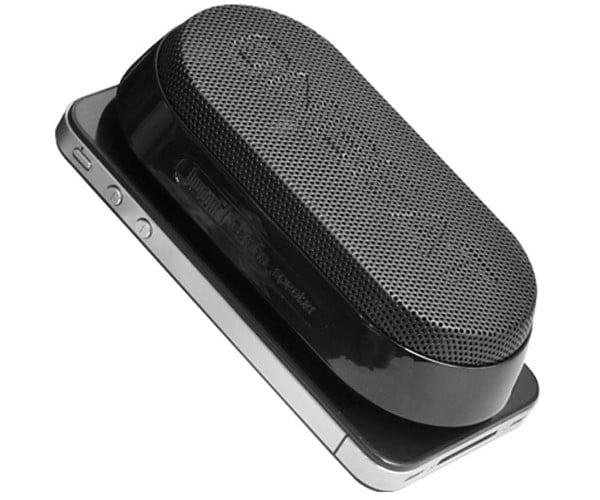 Divoom Onbeat-x1 Bluetooth Speaker Sucks (Onto the Back of Your Phone)
