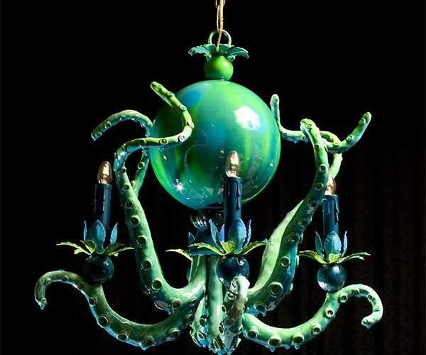 Octopus Chandeliers: 20,000 Leagues Under the Ceiling