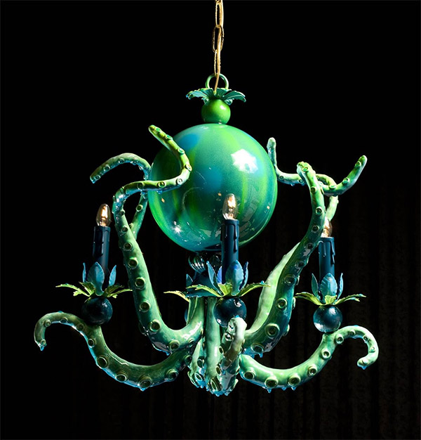 Octopus Chandeliers 20 000 Leagues Under The Ceiling