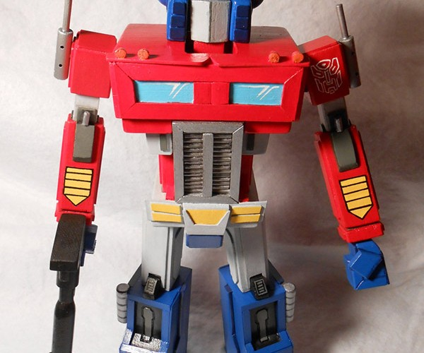 Optimus Prime Nutcracker Will Transform Your Nuts into Rubble