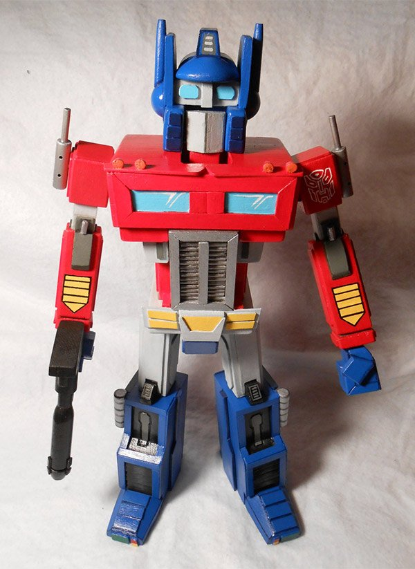 optimus prime nutcracker