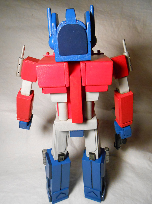 optimus prime nutcracker 2