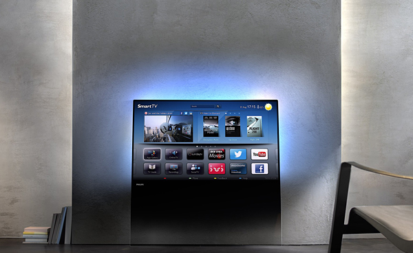 philips designline tv looks like its just a sheet of glass not for ragequitters. Black Bedroom Furniture Sets. Home Design Ideas