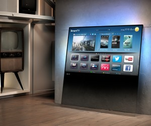 Philips DesignLine TV Looks Like Its Just a Sheet of Glass: Not for Ragequitters