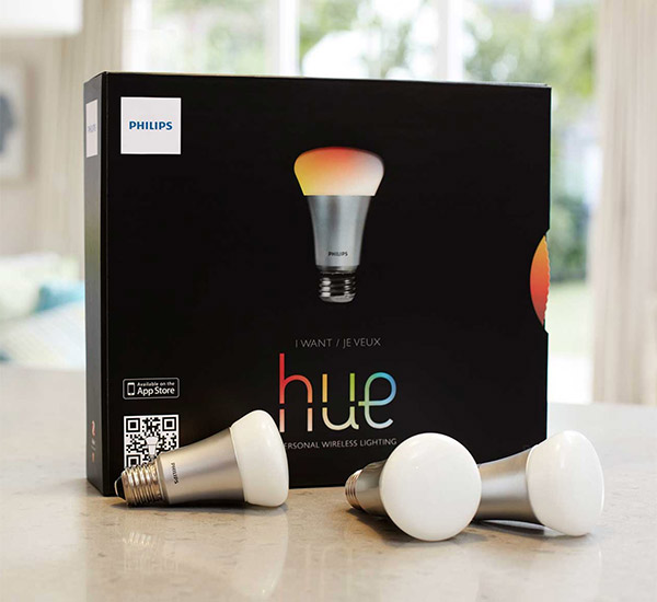 philips hue led lamps get api and software developer kit technabob. Black Bedroom Furniture Sets. Home Design Ideas