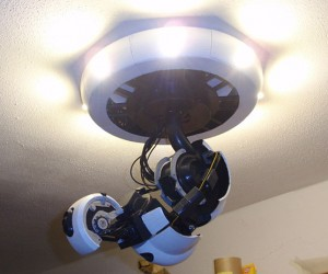 3D Printed GLaDOS Arm Lamp: Killing You and Lighting Your Home Aren't Mutually Exclusive
