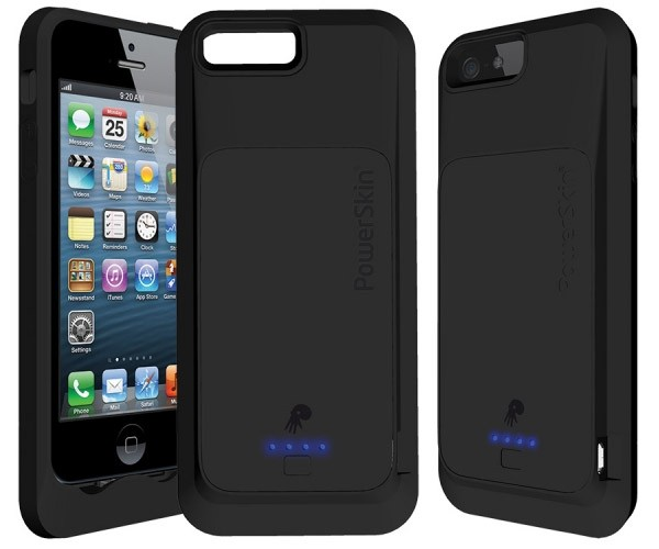 iPhone 5 PowerSkin Silicone Battery Case Now Shipping