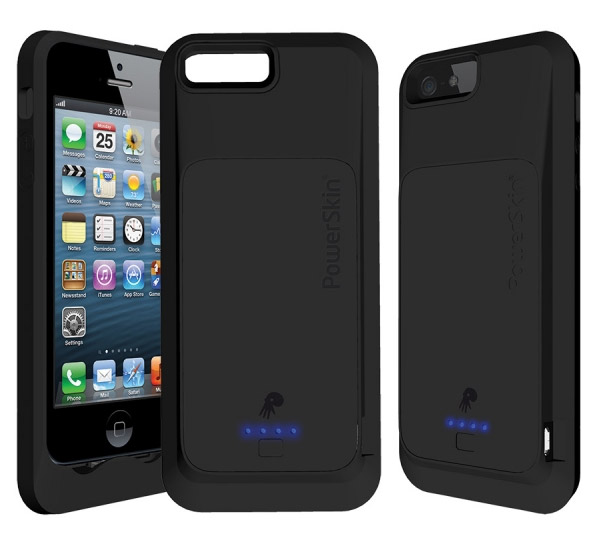 ... External Battery iphone 5 powerskin silicone battery case now shipping