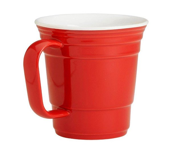red cup coffee mug