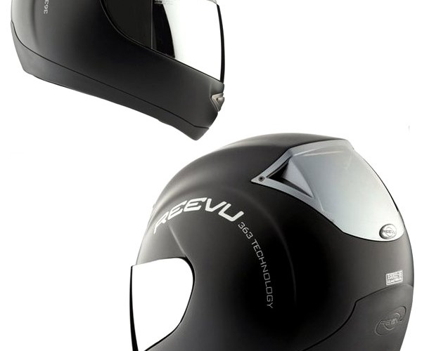 Reevu Motorcycle Helmet Gives You Eyes in the Back of Your Head