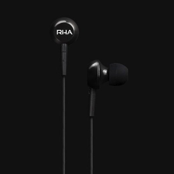 rha ma150 earphones earbuds black photo