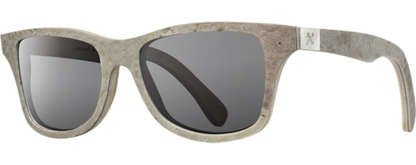 shwood stone sunglasses side