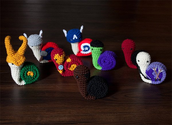 Snail Avengers: Assemble, Very Slowly!