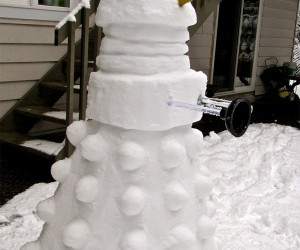 Frosty the Snow Dalek Was a Jolly Happy EXTERMINATE!!! EXTERMINATE!!!