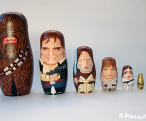 Star Wars Nesting Dolls: May the Force Be with You. And You. And You. and You. And You.