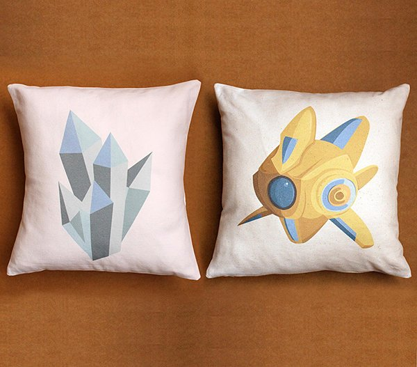 starcraft-ii-mineral-and-protoss-probe-pillow-covers-by-patch-notes