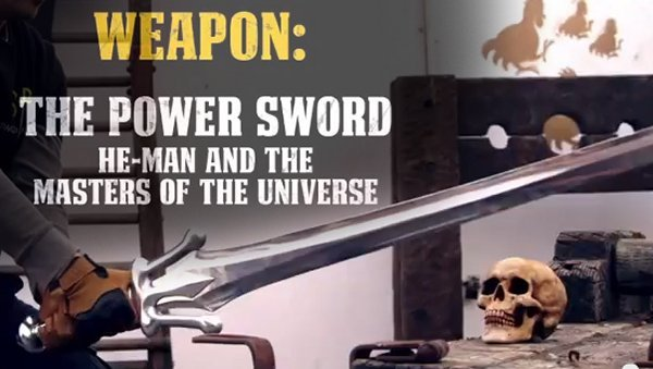 Blacksmith Forges He-Man's Sword of Power