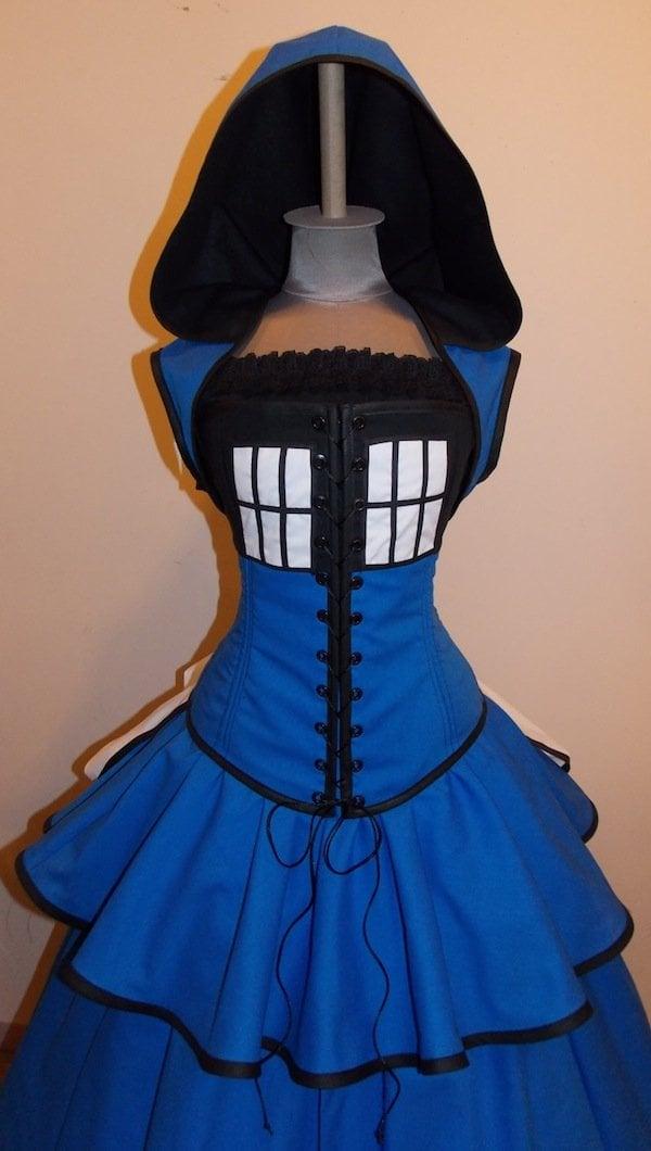 tardis gown