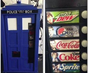 TARDIS Soda Machine is Sweeter on the Inside