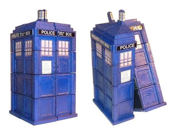tardis rubiks cube 1