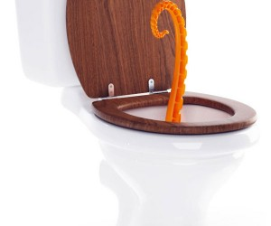 Octopus Tentacle Plunger: If It's Orange, Flush it Down!