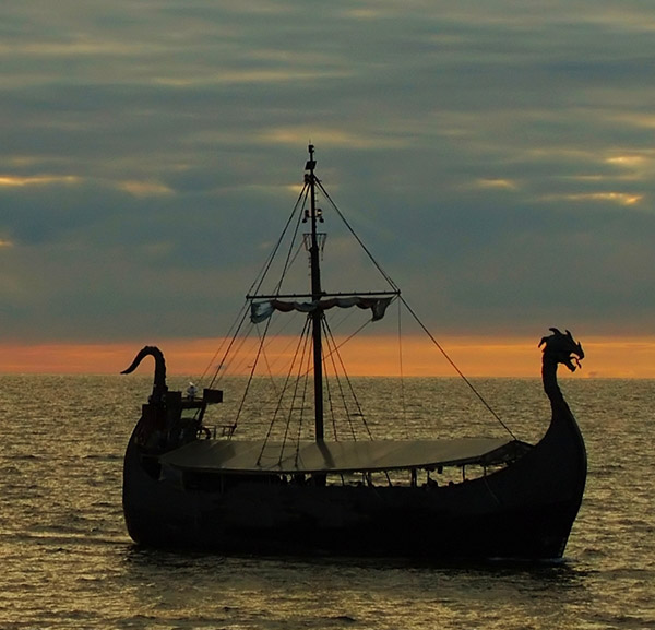 Viking Ship Image via ShutterStock