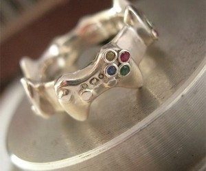 Xbox 360 Controller Wedding Band: At Least It's Not a Red Ring