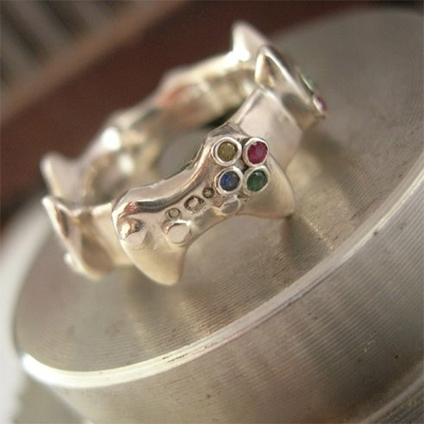 Xbox Controller Wedding Band At Least It S Not A Red Ring