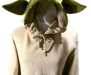 This Yoda Hoodie Makes You a Jedi Master