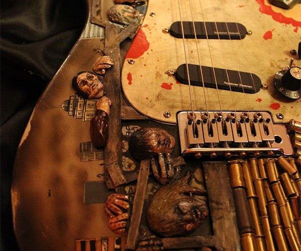 Zombie Guitar Ready to Rock the Apocalypse