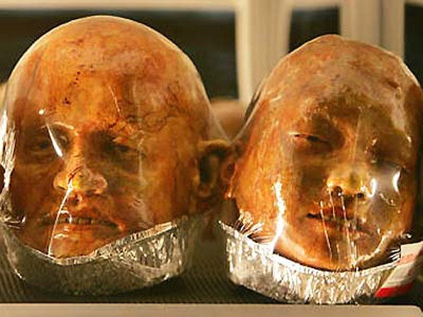 zombie head bread