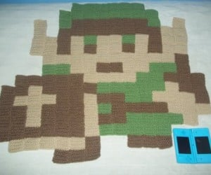 8-Bit Video Game Rugs Offer Soft Pixels Beneath Your Feet
