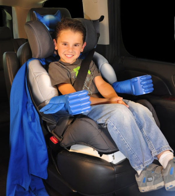 Batman Car Booster Seat: The Car Seat Your Child Deserves - Technabob