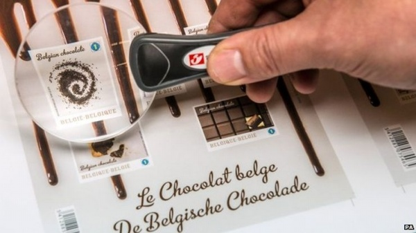 Belgian Chocolate Stamps: Sealed With a Kiss and Sent With a Lick