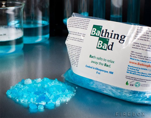 Breaking Bad Trades Meth for Bath Salts