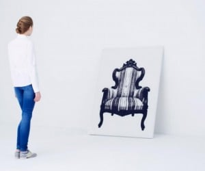 Naoki Ono's Awesome Canvas Furniture Portraits Double as Actual Furniture