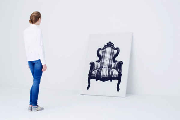 Canvas Wall Chair