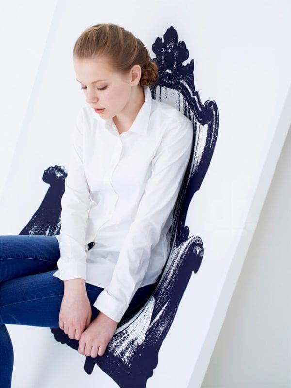 Canvas Wall Chair2
