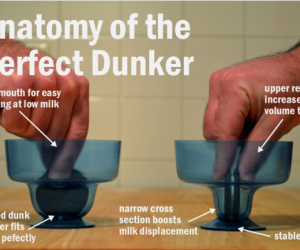 Cookie Dunker Lets You Dunk Cookies the Way They Were Meant to Be Dunked