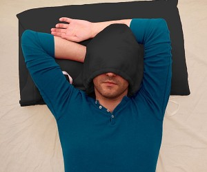HoodiePillow Pillowcase is a Pillow That You Can Wear… Well, Sort of