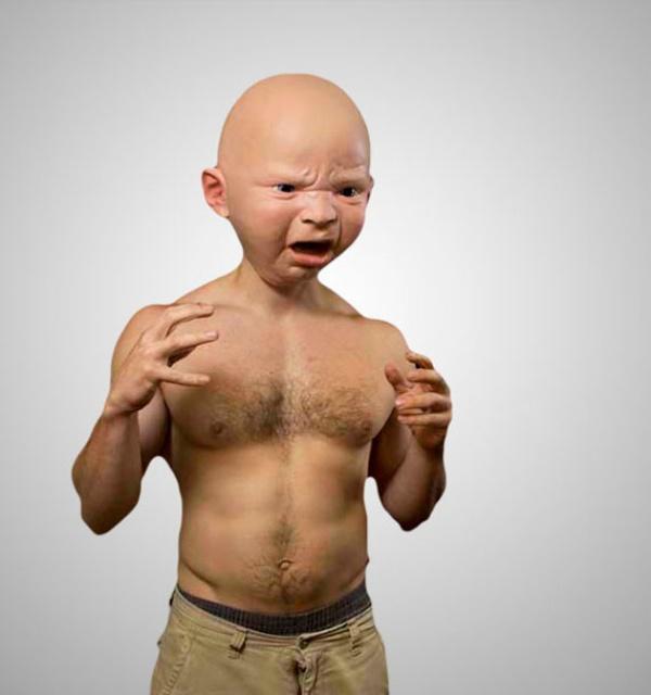 Lifelike Baby Mask1