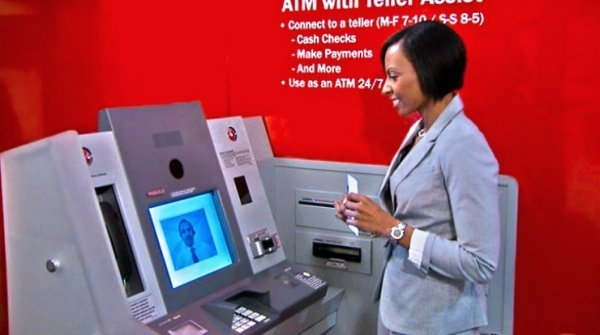 Bank of America Adding Live Video Chat to ATMs Soon