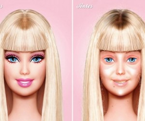 Still a Doll? It's Barbie Without the Makeup and Lipo
