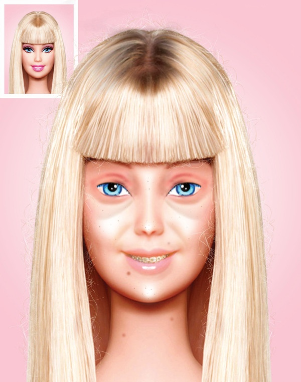No Makeup Barbie1