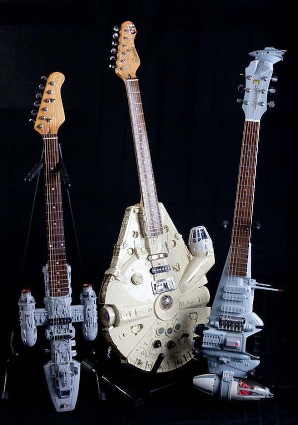 Star Wars guitars