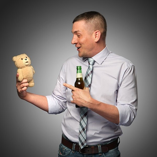Ted R Rated Talking Plush