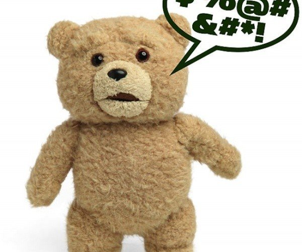 Ted R-Rated Talking Plush: Not For Kids, Perfect for Kids at Heart