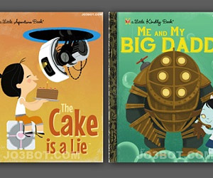 If Video Games Were Little Golden Books…