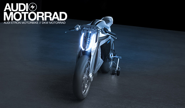 audi motorrad motorcycle ducati front stand photo